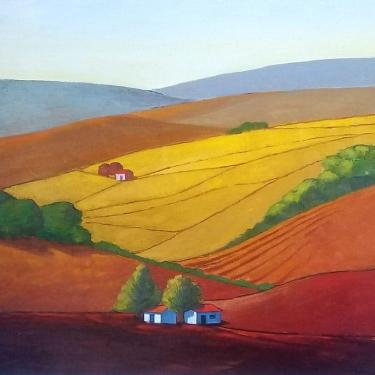 John-Mancini-Rolling-Hills-30x28-Oil-on-Canvas-895