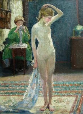 Ida Sedgwick Proper Innocence 32x23 Oil on Canvas