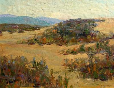 Alta West Salisbury Colorful Dunes 11x14 Oil on Canvas Board