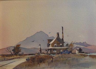 Richard Soderman Wayside 10x13 Watercolor
