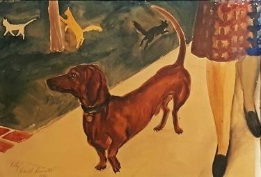 Harold Driscoll Folly 15x21 watercolor