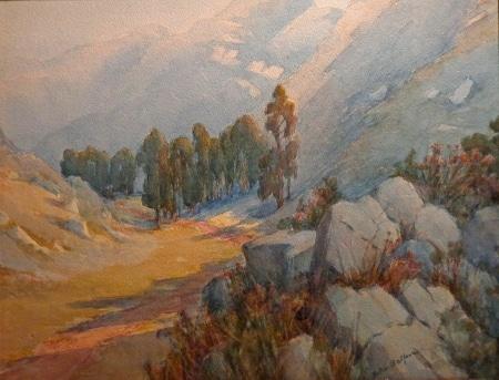 Helen Balfour Sierra Valley 16x20 Watercolor