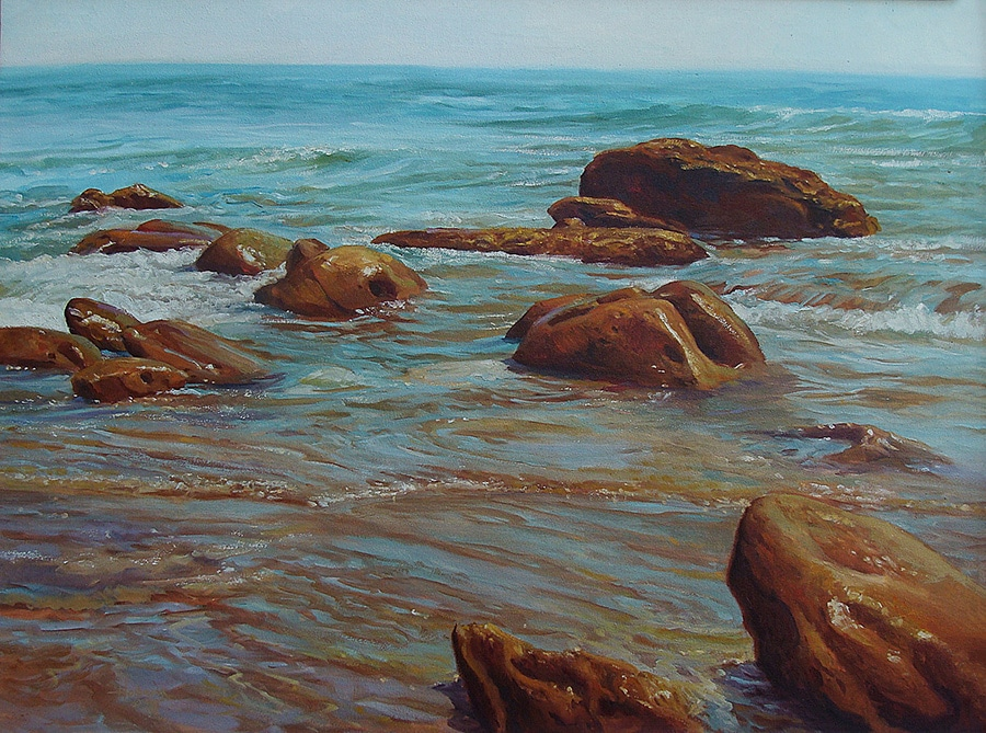 Joseph Holbrook Laguna Shores 30x40 Oil on Canvas