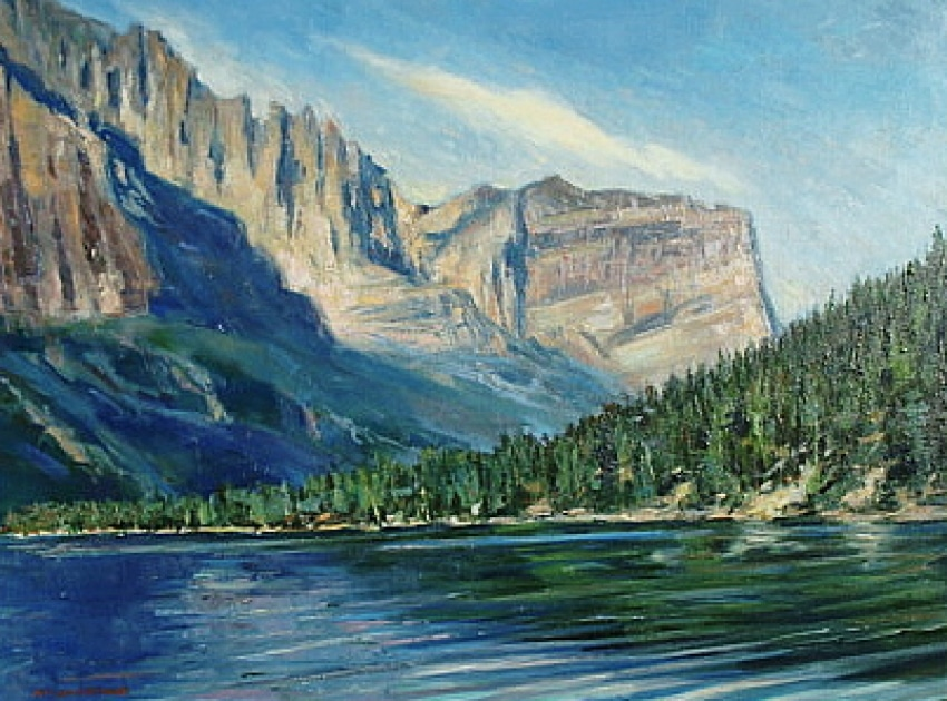 The Great Northwest by Bill Agresano - Oil Painting 18x24
