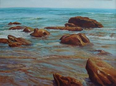 Joseph Holbrook Laguna Shores 30x40 Oil on Canvas