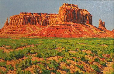 Robert Christy Monument Valley 16x24 Oil on Canvas