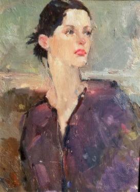 Unknown-artist-Attitude-12x16-oil-on-board-Contemporary-295