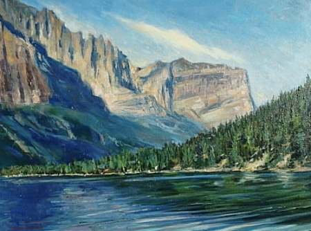 The Great Northwest by Bil Agresano - Oil Painting 18x24