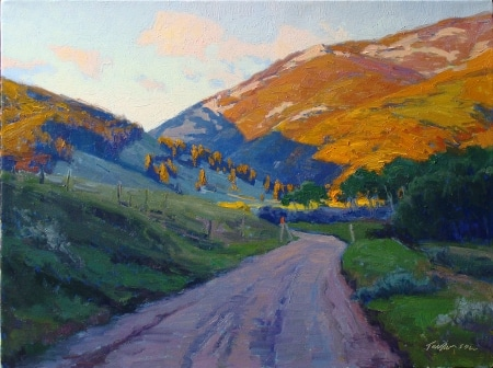 Taylor Lynde Eleanor Road 12x16 Oil on Canvas