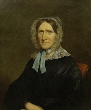 Unknown Artist English Lady circa 1820 30x25 Oil