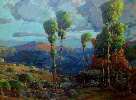 Karl Schmidt California Wonderland 30x40 oil on canvas