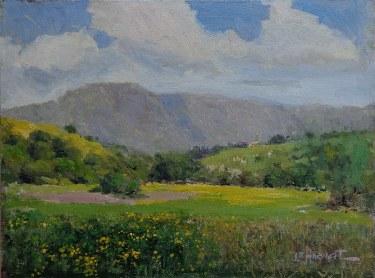 Felice Hrovat California Day 12x16 Oil on Canvas