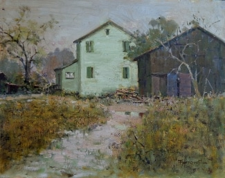 Felice Hrovat Quiet Days 11x14 Oil on Board