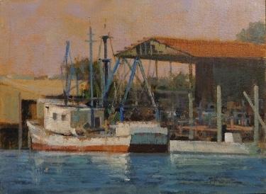 Felice Hrovat Working Boat in Monterey