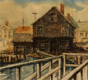 BT Constantine Fisherman's Home 9x12 Watercolor