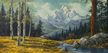 Jay Schmidt Sierra Stream 24x28 Oil on Board