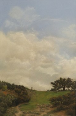 Pamela Kendall Schiffer, View from Porter Trail, 9x6 Watercolor