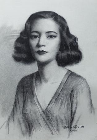 J. Mason Reeves  Beth  22x16 pencil drawing