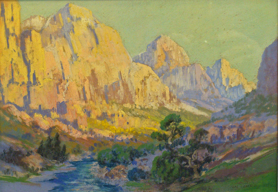 Carl Sammons California Canyon 10x12 Pastel
