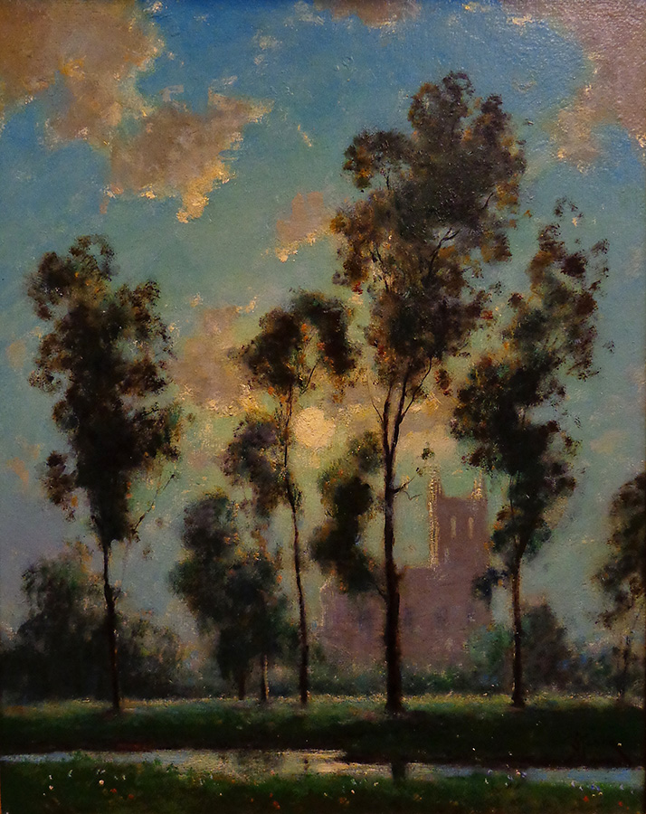 Dedrick Stuber Moonlight Radiance 20x16 Oil on Board