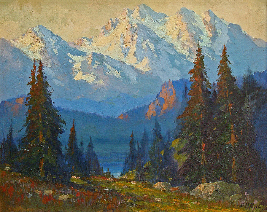 E. H. Pohl Sierra Light 16x20 Oil on Board