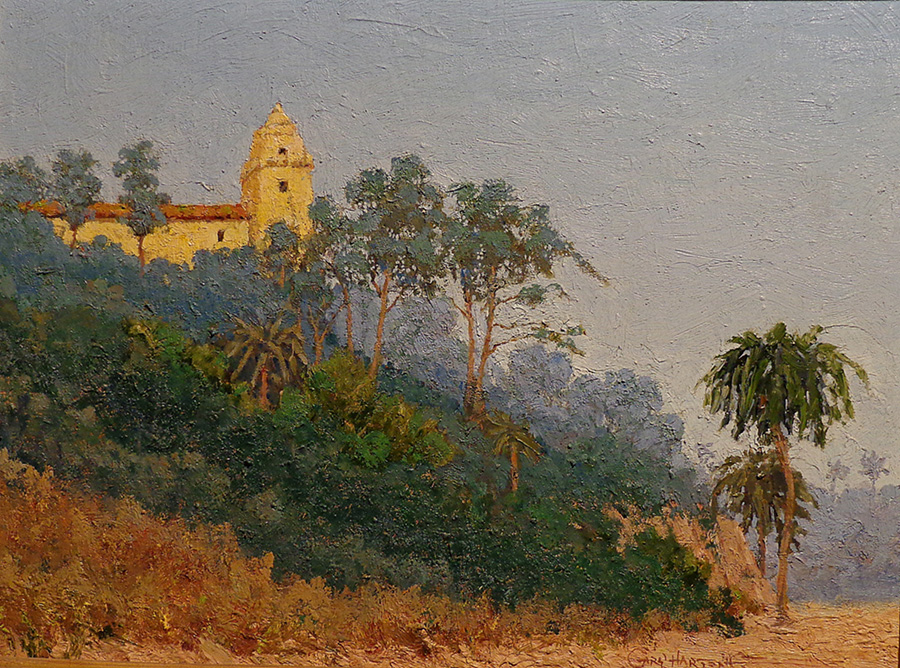 Gary Hartenoff The Presidio 12x16 Oil on Board