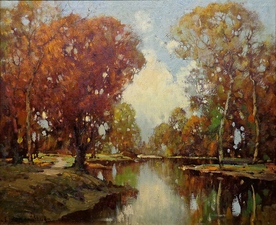 George Thompson Pritchard Autumn Reflections