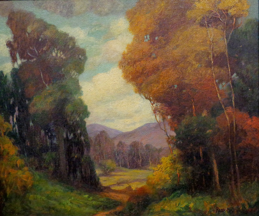 Harry Mann Waddell Autumn Colors Oil on Canvas