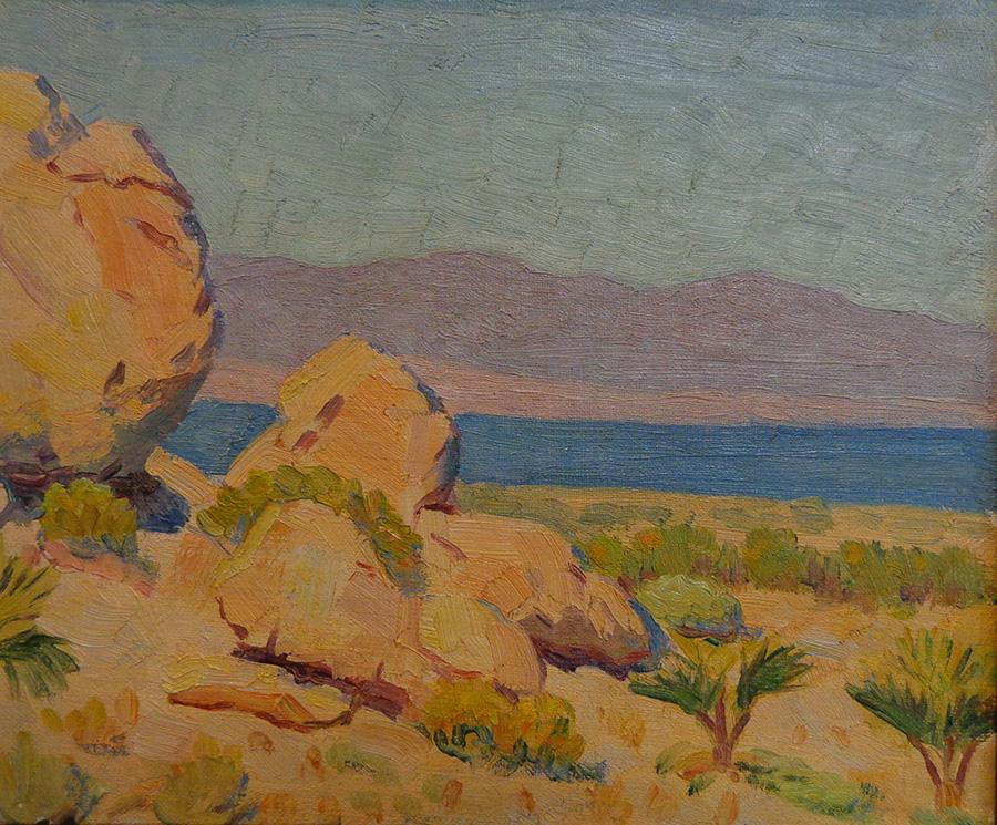 J. Mason Reeves Outcropping near the Salton Sea