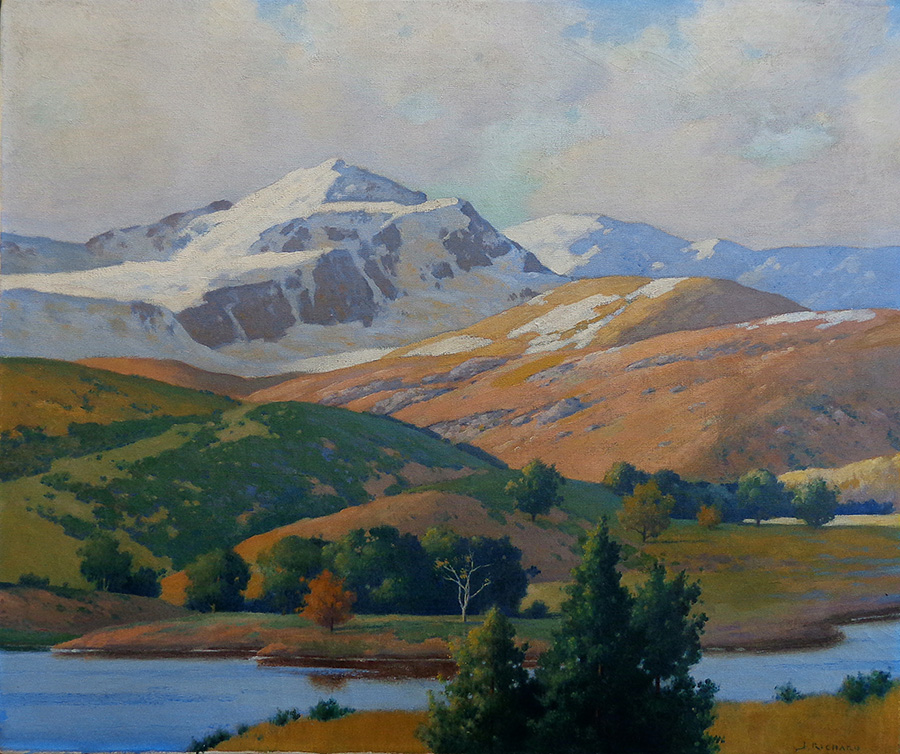 Jacob Richard Winter and Summer 25x30 Oil on Canvas