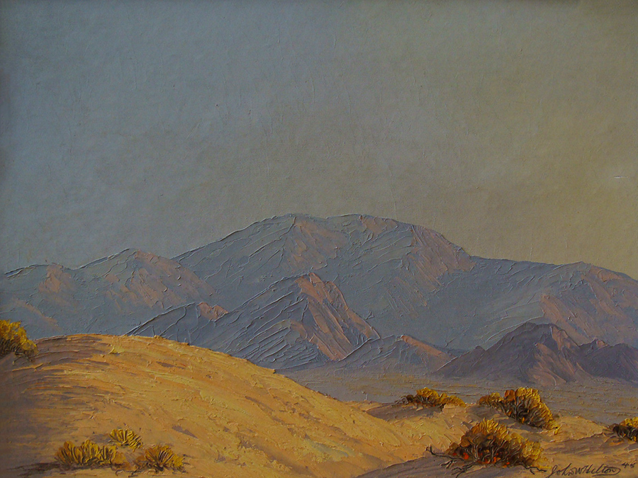 John W. Hilton Early Morning 12x16 Oil on Canvas Board