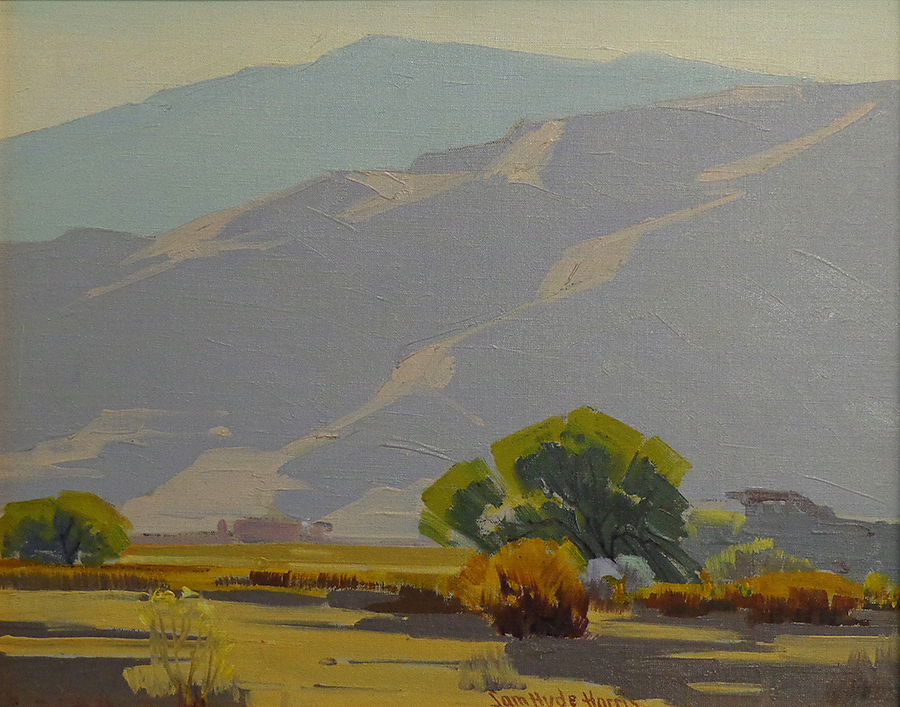 Sam Hyde Harris Color Contrasts 16x20 Oil on Canvas Board