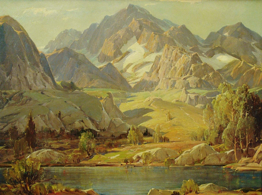 Albert Alfredson Sierra Grandeur 30x40 Oil on Canvas