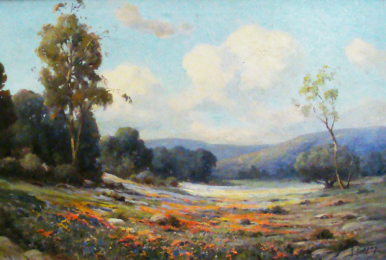Angel Espoy California Wildflowers 20x30 Oil on Canvas