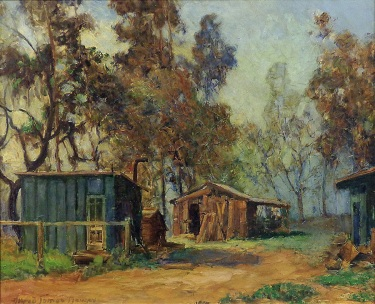 Alfred James Dewey Canyon Crest Sierra Madre 28x34 Oil on Canvas