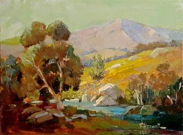 Felice Hrovat California Spring 12x16 Oil on Canvas