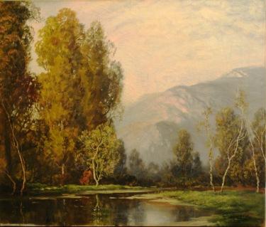 A. D. Greer Morning Glory 25x30 Oil on Canvas