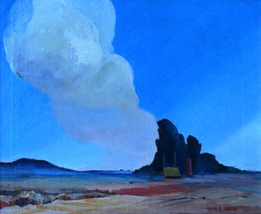 Tom E Lewis El Toro 18x22 Oil
