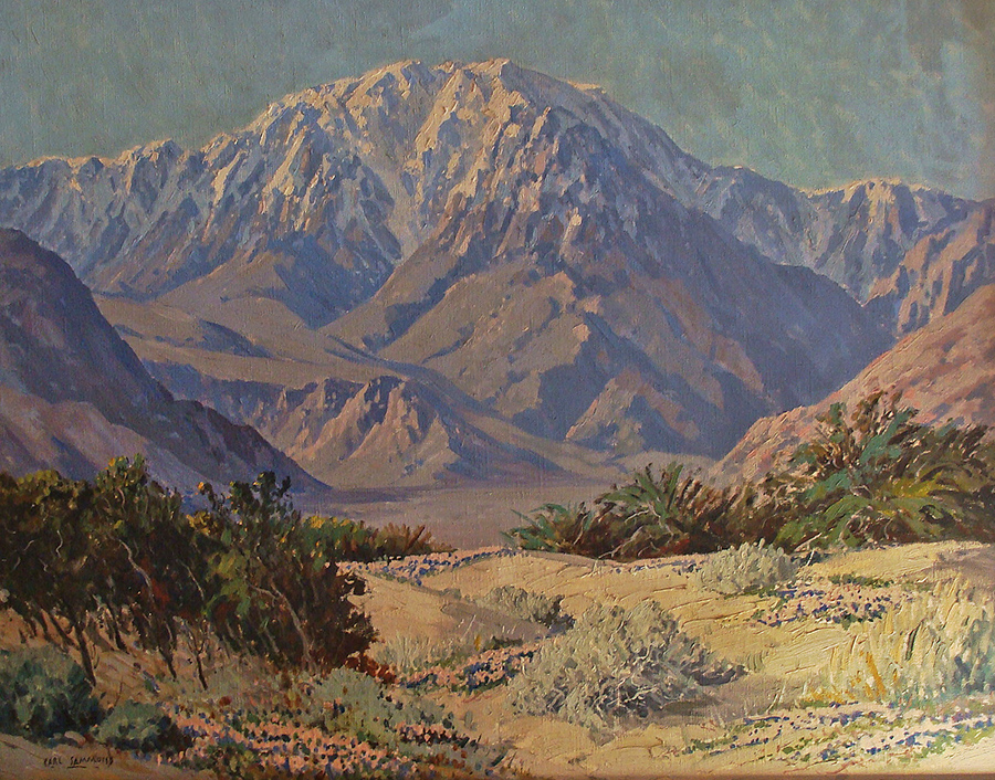 Carl Sammons Mt San Jacinto 24x30 Oil on Canvas