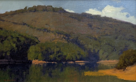 Kevin Courter Crystal Springs 10x16 Oil on Canvas