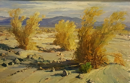 William S Darling Desert Solitude 24x36 Oil on Canvas