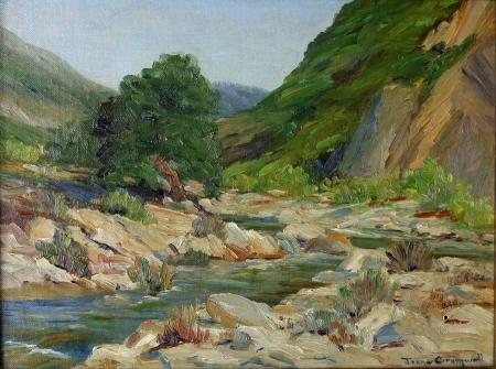 Joane Cromwell San Jacinto River 9x12 Oil on Canvas