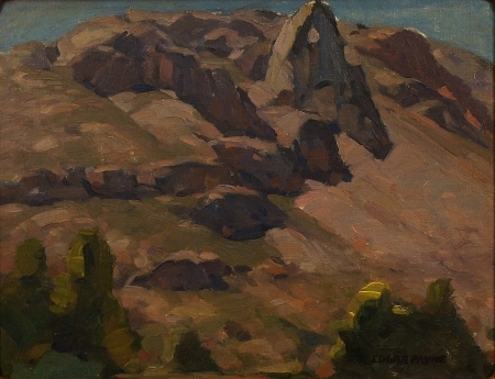 Edgar Payne Sierra Study 14x18 Oil on Board