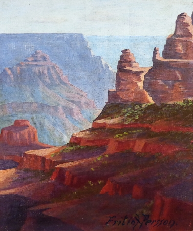 Fritiof Persson Grand Canyon Overlook