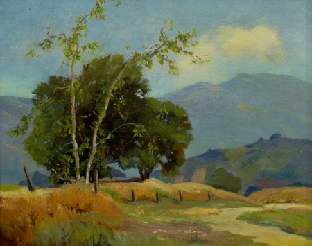 Jessie Everts Hollywood Hills 16x20 Oil