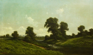 Ransom G Holdredge Sacramento Valley Delta 30x50 Oil