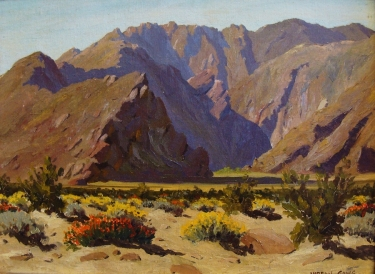 Vardon Going Desert Spring 12x16 Oil on Board