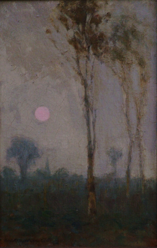 Elisabeth Ann Knowles Early Morn 11x7 Oil on Board