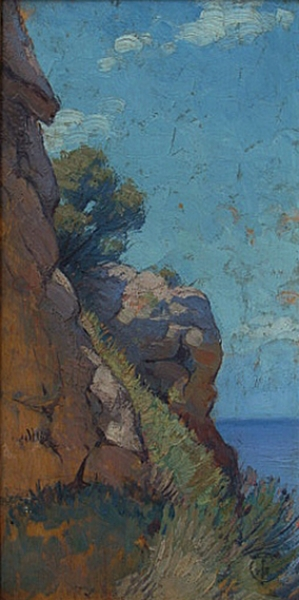 Frank Tolles Chamberlin Capri 8x4 Oil