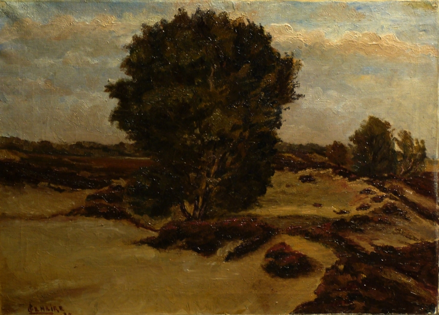 Gabriel Lemaire Coastal Trees 16x22 Oil on Canvas